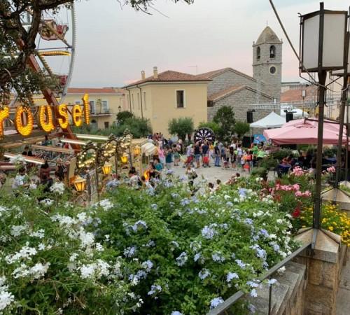 Summer Festival Arzachena Baja Sardinia