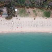 Sayonara Club Hotel Village Vizualizare aeriană a plajei