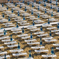 Hotel Club Helios beach loungers
