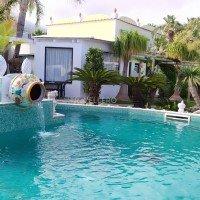 Park Hotel La Villa Resort piscină cu amphora din Afrodita