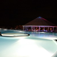 Piscina Club Esse cassiodoro noaptea 1