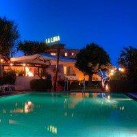 Piscina de noapte Hotel La Luna